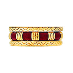 Hidalgo Stackable Rings Art Deco Collection Set (RG2005 & RM2043)