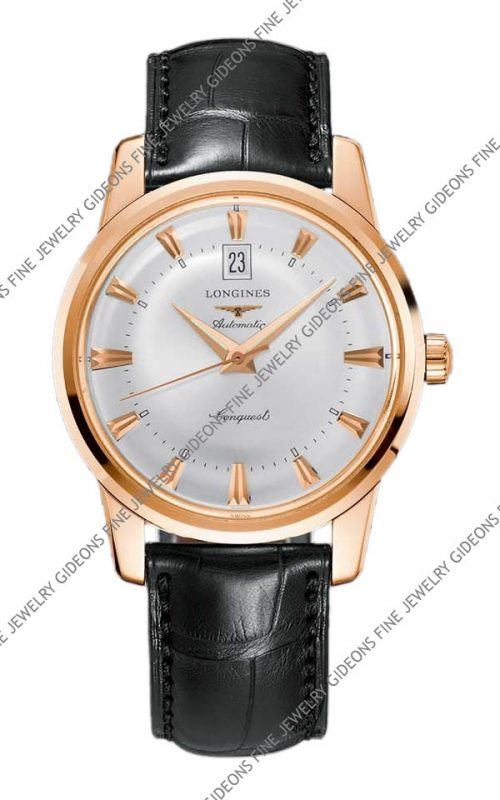 Longines Heritage Conquest Mens Automatic L1.645.8.75.4 40 mm