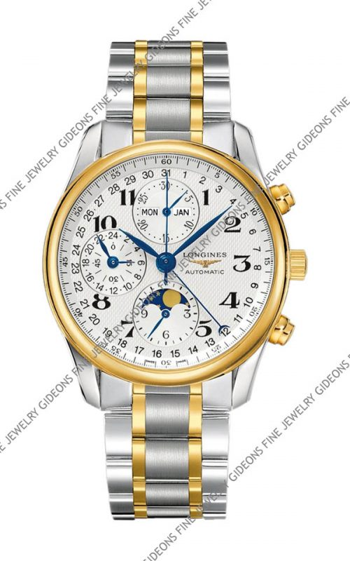 Longines Master Collection Mens Moon Phase Chronograph L2.673.5.78.7 40 mm