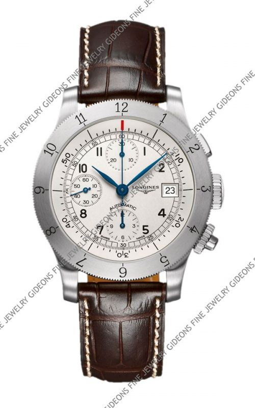 Longines Heritage Mens Automatic Chronograph L2.741.4.73.2 40 mm