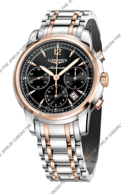 Longines Saint-Imier Mens Automatic Chronograph L2.752.5.52.7 41 mm