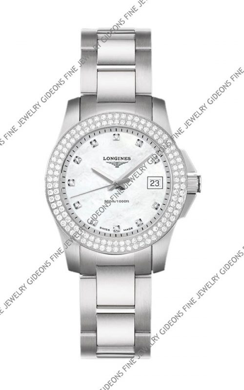 Longines Conquest Ladies Quartz L3.258.0.87.6 29.50 mm
