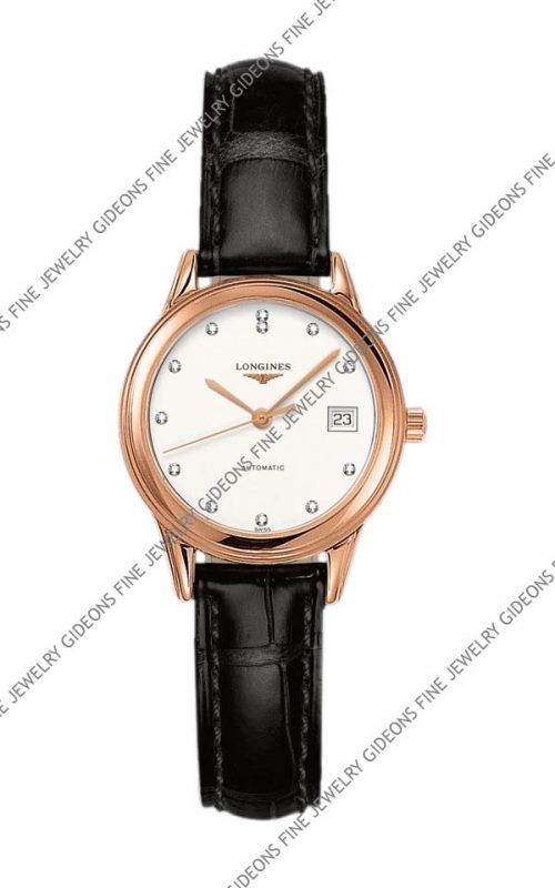 Longines Flagship Ladies Automatic L4.274.8.27.2 26 mm