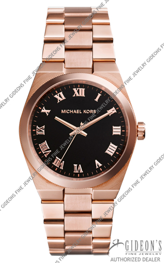Michael Kors Mid-Size Channing Golden Stainless Steel Three-Hand MK5937 Watch