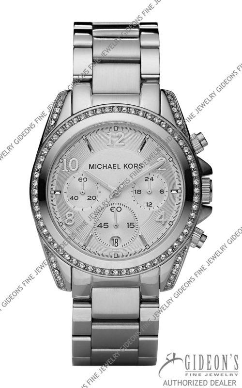 Michael Kors Silver Runway Quartz Chronograph MK5165 MKF11_Y0BVD