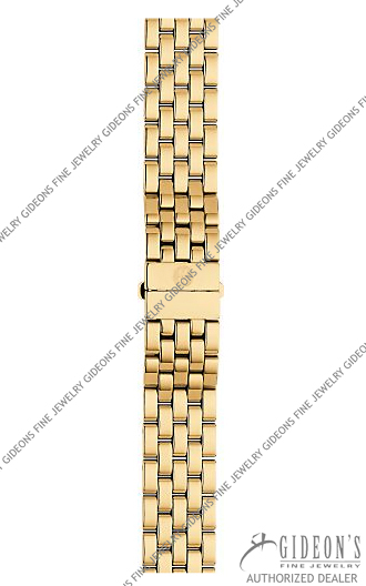 Michele Urban Mini Gold Plated Bracelet MS16AR246710 16 mm