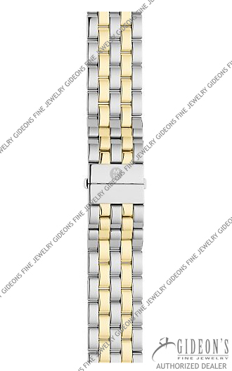 Michele Gold Plated Stainless Steel Bracelet MS16CM280009 16 mm