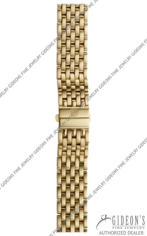 Michele Deco 16 Gold Plated Bracelet MS16DM246710