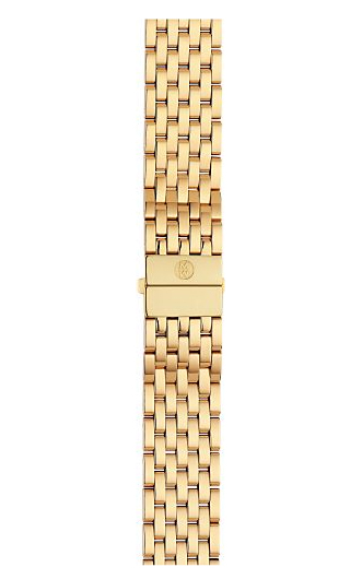 Michele Csx 36 Gold Plated Bracelet Ms18at246710 18 Mm