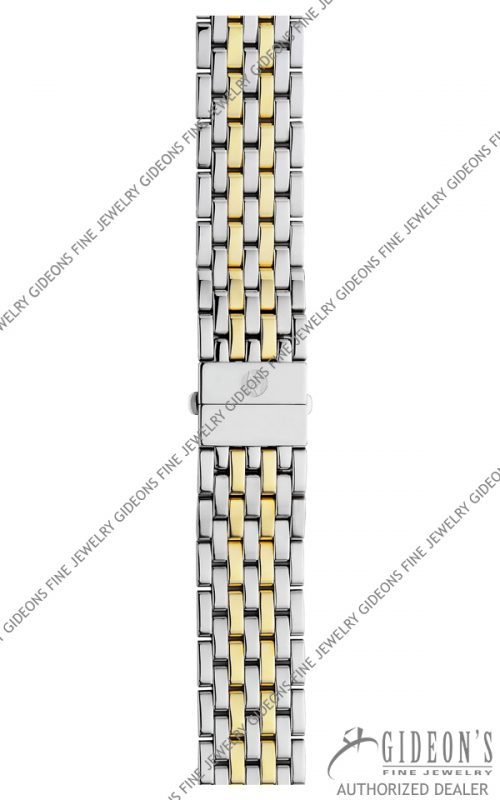Michele CSX 36 Gold Plated Stainless Steel Bracelet MS18AT285048 18 mm
