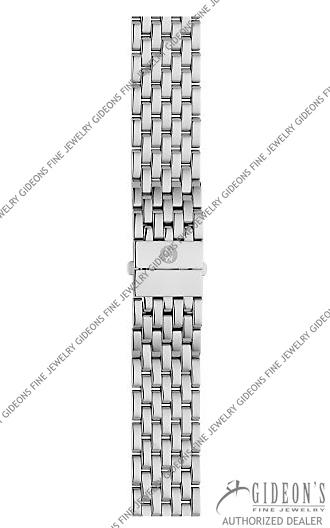 Michele Deco Stainless Steel Bracelet MS18AU235009 18 mm