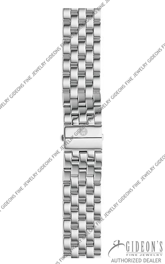 Michele Sport Sail Stainless Steel Bracelet MS20CX235009 20 mm