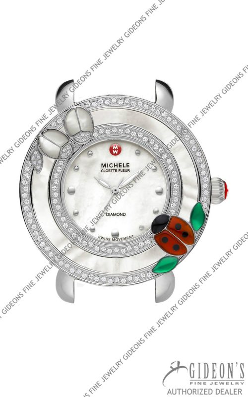 Michele Limited Edition Cloette Ladybug Watch Head MW20D34J6025