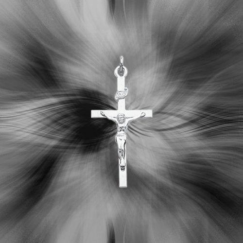Quality Sterling Silver INRI Crucifix Pendant QC3380