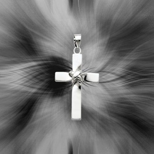Quality Sterling Silver Latin Cross Pendant QC5861