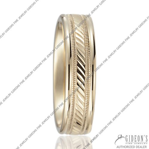 Benchmark Carved Bands RECF56441 6 mm