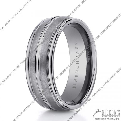 Benchmark Alternative Metal Tungsten Bands RECF58180TG 8 mm