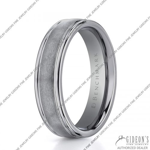 Benchmark Alternative Metal Tungsten Bands RECF7602STG 6 mm