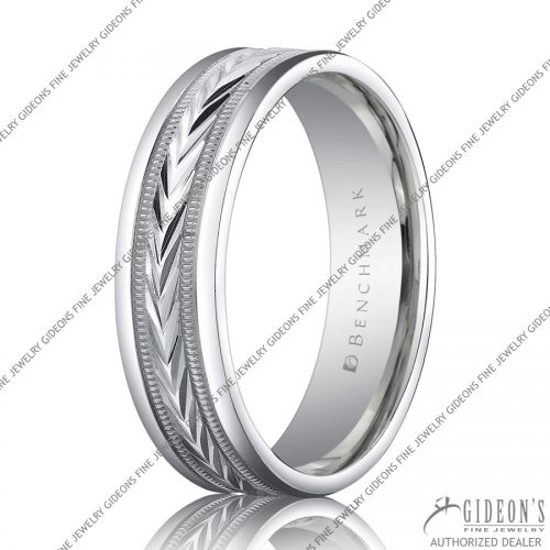 Benchmark Carved Bands RECF7603 6 mm