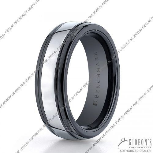 Benchmark Alternative Metal Seranite Bands RECF77864CMTG 7 mm