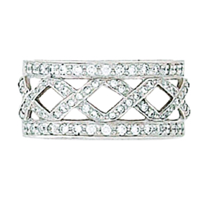 Hidalgo Interchangeable Rings White Gold Ring Jacket (RN2286)