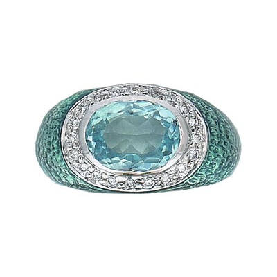Hidalgo Stackable Rings Diamond and Gemstone (RR1197)