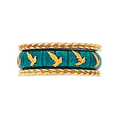 Hidalgo Stackable Rings Aviary Collection Set  (RS7512 & RM2056)