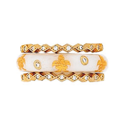 Hidalgo Stackable Rings Other Collections Set (RS7560 & RS7254)