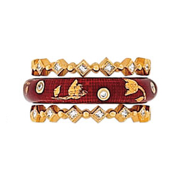 Hidalgo Stackable Rings Other Collections Set (RS7567 & RS6927)