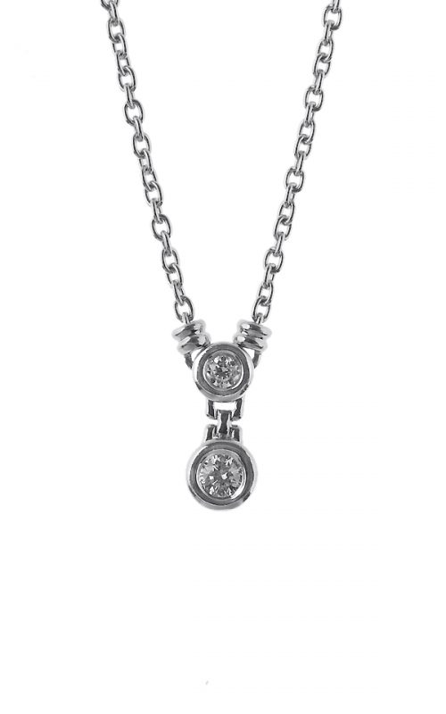 Gideon's Exclusive Platinum Solitaire Diamond Pendant