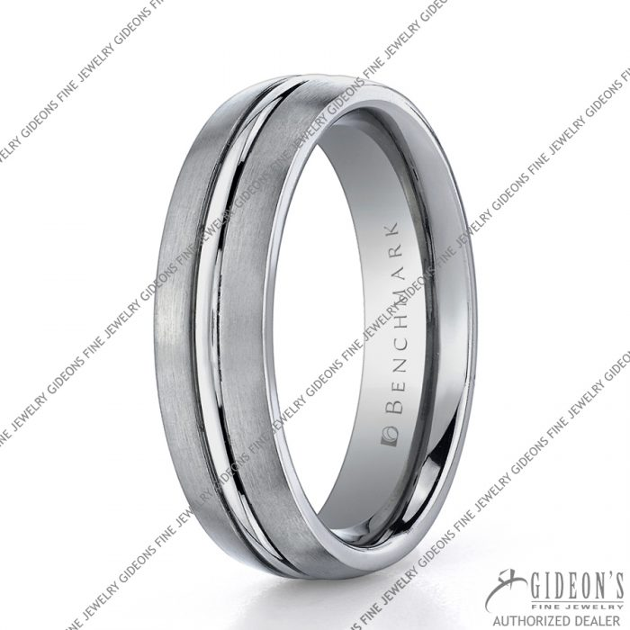 Benchmark Alternative Metal Titanium Bands TI560 6 mm