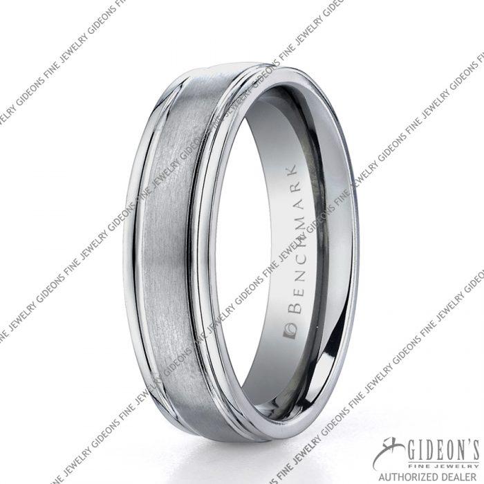 Benchmark Alternative Metal Titanium Bands TI561 6 mm