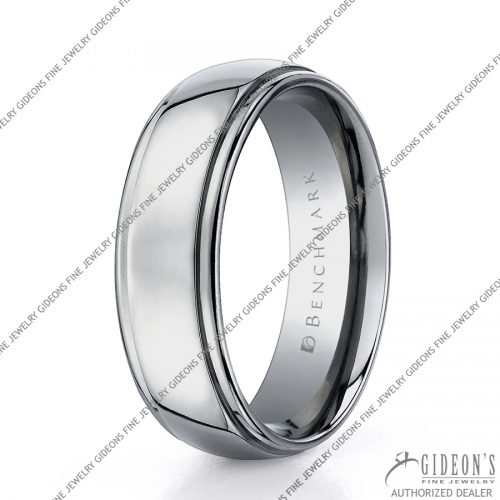 Benchmark Alternative Metal Titanium Bands TI570 7 mm