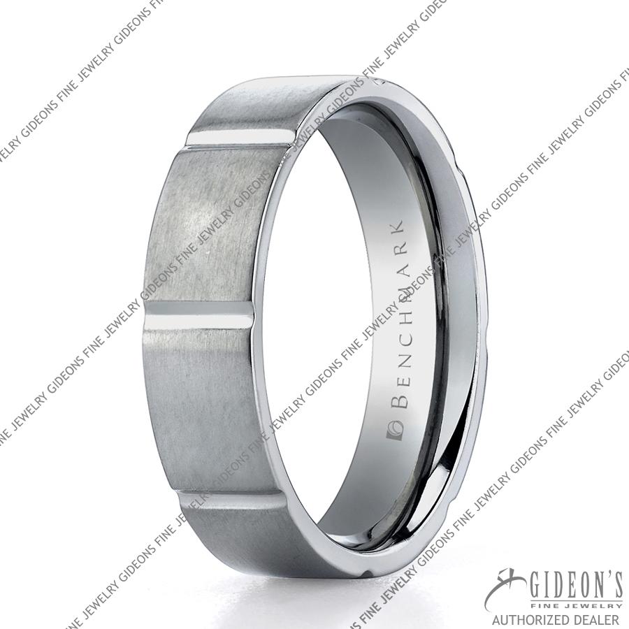 Benchmark Alternative Metal Titanium Bands TICF66422 6 mm