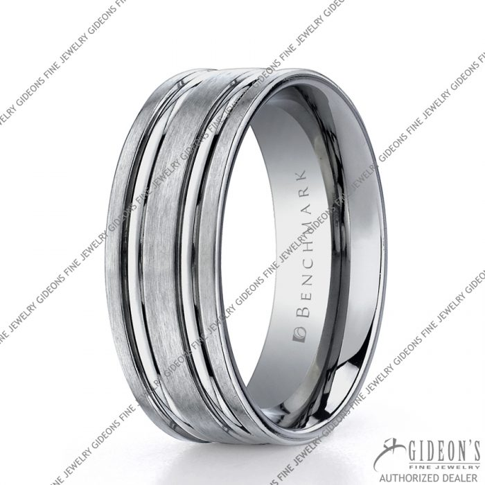Benchmark Alternative Metal Titanium Bands TICF68423 8 mm