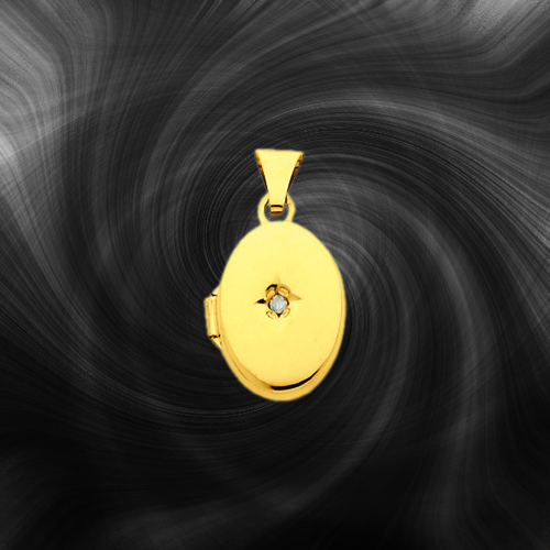 Quality Gold Oval Locket XL150