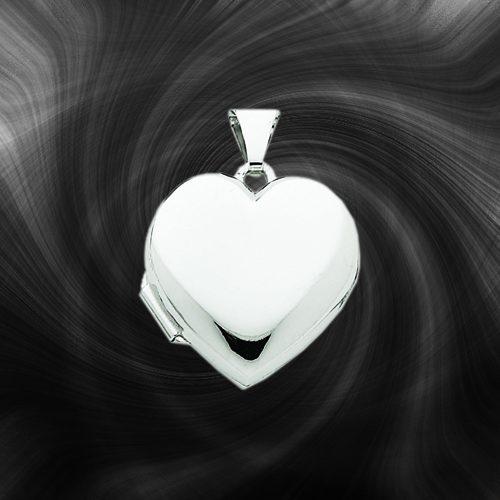 Quality Gold Heart Locket XL186