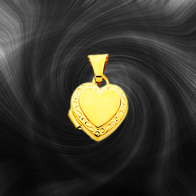 Quality Gold Heart Locket XL63