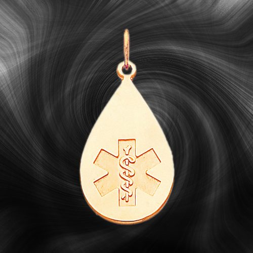 Quality Gold Medical Jewelry Pendant XM405N
